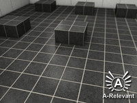 Tile_2_Grey - Procedural Marble Tile Material - 3ds Max 2010 Mental Ray