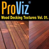 3dRender Pro-Viz Wood Decking Vol. 01
