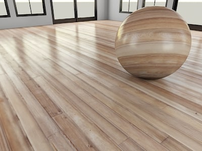 materials other wood floor glossy
