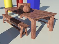 Wood Stained Light 1_01 - 3ds max2010 Mental Ray Material