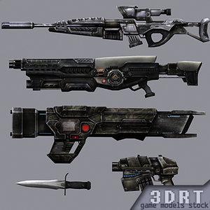 3DRT-Sci-Fi-Firearms-animated-demo