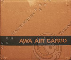 Cardboard box texture 07b
