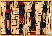 Rectangular carpet 036