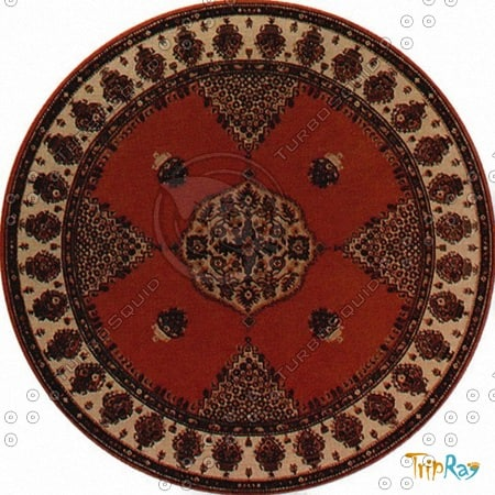 Texture Other Carpet Round Rug