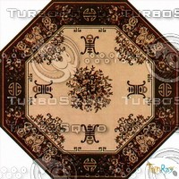 Octagonal carpet 087