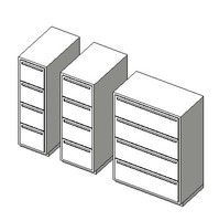 gx_FURN File 4 Drawer