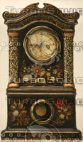 Painted Clock Texture