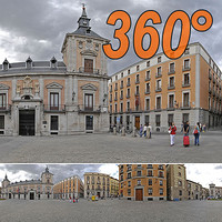 Town square - 360° panorama
