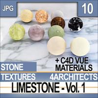 Limestone Vol. 1 - Textures & Materials