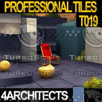 Professional Tiles T019 - Textures & Materials