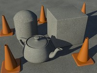 Asphalt or Concrete 1 - Mental Ray - for ground or aerial views - PROCEDURAL!!!
