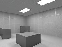 Ceiling_Tiles_1 - Office Ceiling Tiles - 3ds max2010 mental ray - PROCEDURAL
