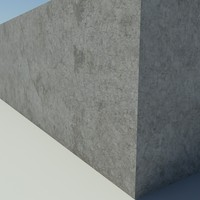 Concrete_1_Old - Old Concrete - 3DS MAX 2010 - Mental Ray Material