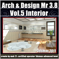 Arch e Design Collection Vol.5 Mental ray 3.8