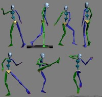 3D Dance Motion Capture, 3D dance Animation, 3D Tree Files at TurboSquid