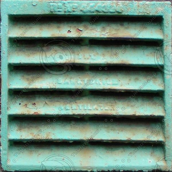 Victorian green exterior vent