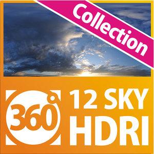 HDRI Sky Collection (12hdri)