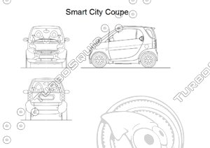 Smart City Coupe drawings