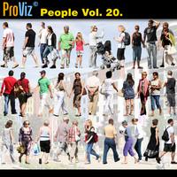 3dRender Pro-Viz People Vol. 20