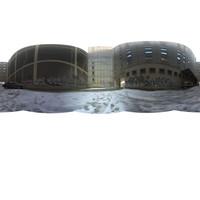 Gloomy Courtyard HDR map