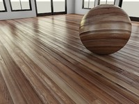WoodFloor_2_Dark - Wood Floor - 3DS Max 2010 - Mental Ray Shader