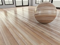 WoodFloor_2_Light - Wood Floor - 3DS Max 2010 - Mental Ray Shader
