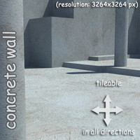 concrete painted wall  (04)