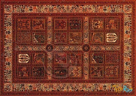 Rectangular carpet 020
