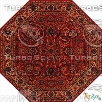Octagonal carpet 088