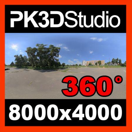 PK3D Studio HDRI map 0004