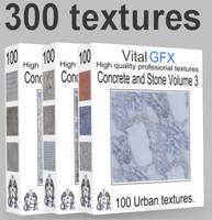 Concrete & Stone Mega pack