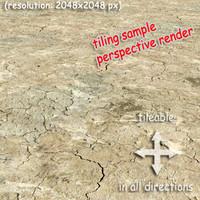 Ground - cracked soil (2)