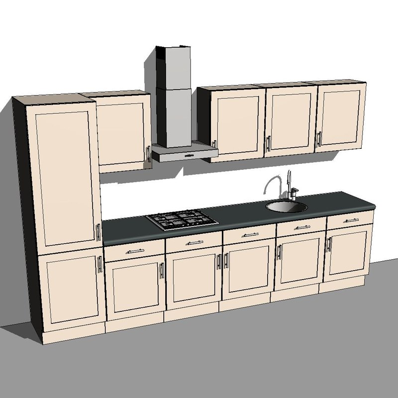Kitchen Cabinet Drawing Software: Building Other Kitchen Hob Stove