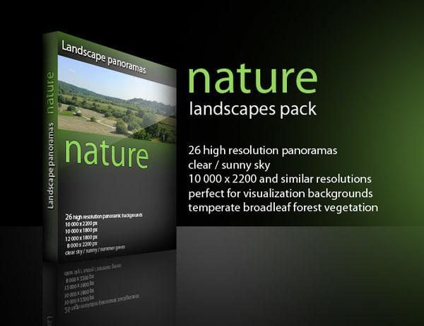 landscape panoramas nature