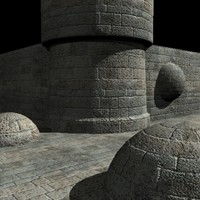 Stone wall material
