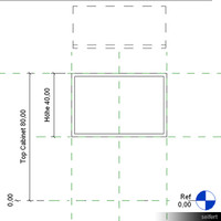 Template Casework Wall Hung 00106se