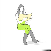 Person Sitting 00108se