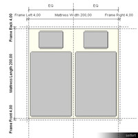 Template Bed 00162se