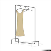 Clothes Rack 00182se