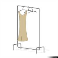 Clothes Rack 00182se