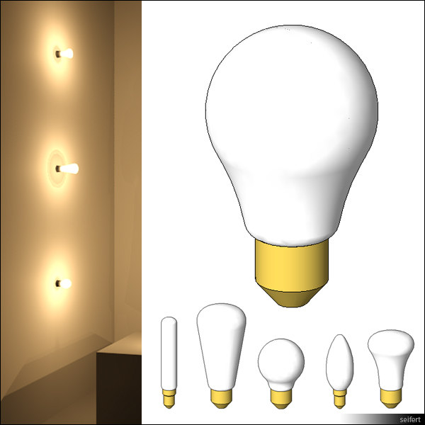 Lighting Revit Families