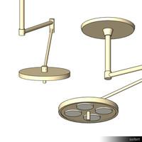 Operating Lamp 01032se