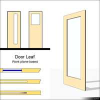 Door Leaf Infill 01074se