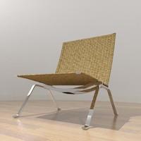 Poul Kjærholm PK22 Easy Chair - Wicker