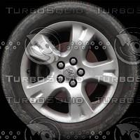 Toyota Corolla wheel texture