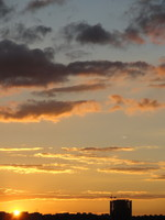 Sunset Sky 06 - stock photo