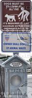 Dog Waste Signs
