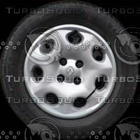 Renault Megane wheel texture