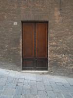 Old Italian wall and door R0011462