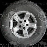 S10 truck wheel